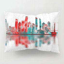 Izmir Turkey Skyline Pillow Sham