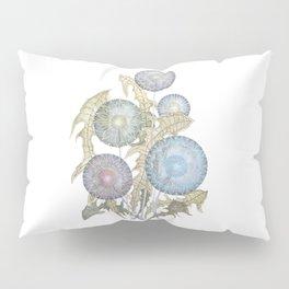 Dandelions watercolor painting Pillow Sham