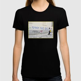 Feminism fights back T-shirt