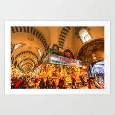 Spice Bazaar Istanbul Art Print