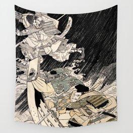 Ghost of Taira no Tomomori Wall Tapestry