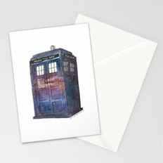 Doctor Who Galaxy Tardis Stationery Cards