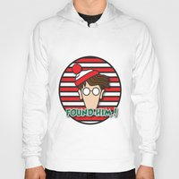 waldo Hoodies featuring Found Waldo! by EdwardJ