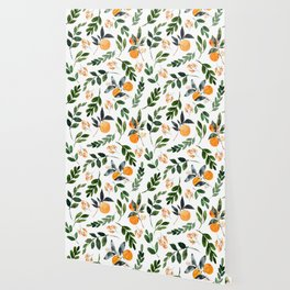 Orange Grove Wallpaper