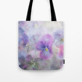 little pansies Tote Bag