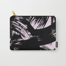 Pink Strokes Carry-All Pouch