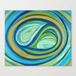 Yin & Yang | Abstract Oil Painting Canvas Print