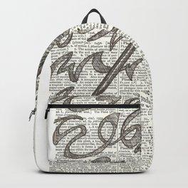 Brainstorming Backpack