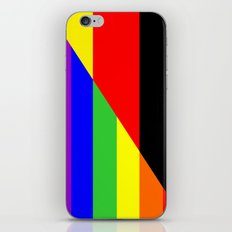 germany gay people homosexual flag iPhone & iPod Skin