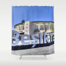 Besiktas JK Football Club Stadium Istanbul Shower Curtain