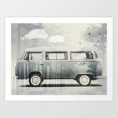Kombie Dreaming Art Print