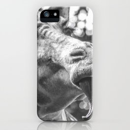 Giraffe Licked iPhone Case