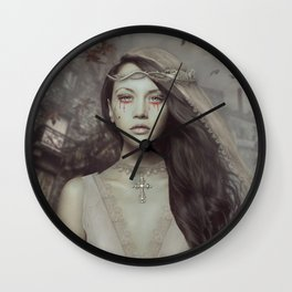 Miss Mayfair Wall Clock