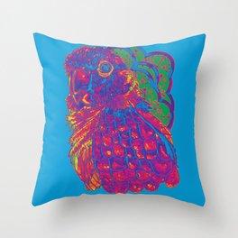 Summer Electric Conure Throw Pillow