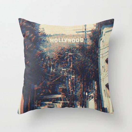 Movie Script Ending Throw Pillow