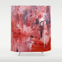wander Shower Curtains featuring Wander by Andrea Welton