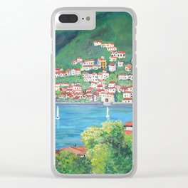Torno, Lake of Como Clear iPhone Case