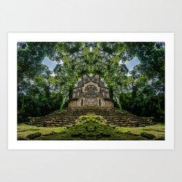 Kaleidoscape: Yaxchilan Art Print