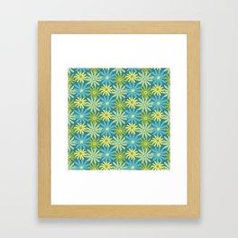Daiseez-Jardin Colors Framed Art Print