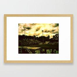 """""""Strike Two"""" Framed Art Print"""