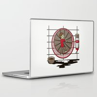 hamster Laptop & iPad Skins featuring Hamster Zombie by le.duc
