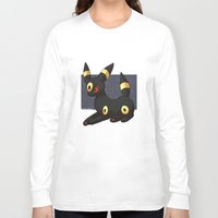 umbreon Long Sleeve T-shirts featuring Umbreon by Mirikun