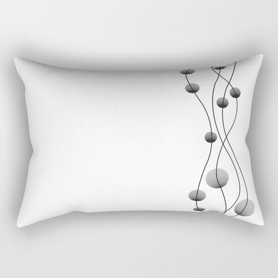 Interstellar Flowers Rectangular Pillow