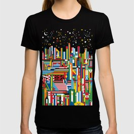 Flagscapes: World Cityscape T-shirt