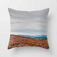 scotland Throw Pillows featuring Scotland by janisratnieks
