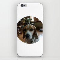 buzz lightyear iPhone & iPod Skins featuring Bruno and Mini Buzz Lightyear by Bruno The Beagle