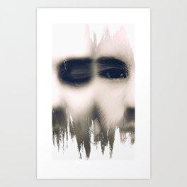 Shred Art Print