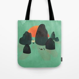 No one ever believed them... Tote Bag