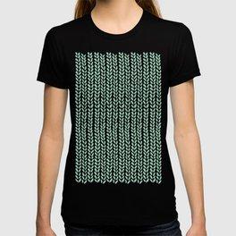 Knit Wave Mint T-shirt
