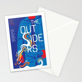 80s TEEN MOVIES :: THE OUTSIDERS Stationery Cards
