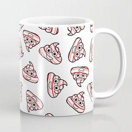 candy cane poo emoji Coffee Mug