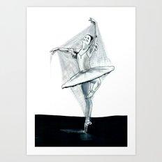 Dancing Stiff Art Print