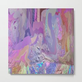 414 - Abstract Colour Design Metal Print