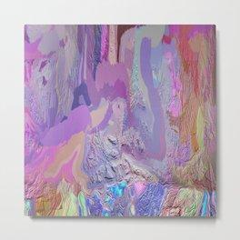 414 - Abstract Colour Design Metal Print