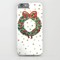 Christmas Wreath II iPhone 6s Slim Case