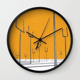 origin of symmetry Wall Clock