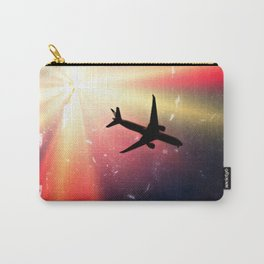 Vintage Aircraft Carry-All Pouch