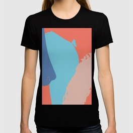 Brush strokes composition #4 T-shirt