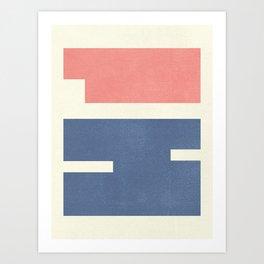 Hi Abstract Art Print