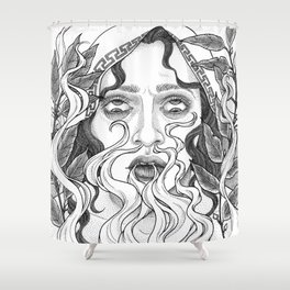 Steambreather Shower Curtain