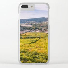 Scenic view of the freshly harvested grape fields in autumn in Valpolicella Clear iPhone Case