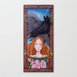 Goddess of Magical Things Canvas Print