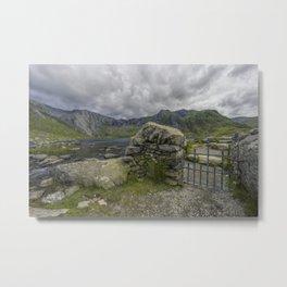 Gate To The Lake Metal Print