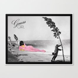 _GUESS GIRL Canvas Print