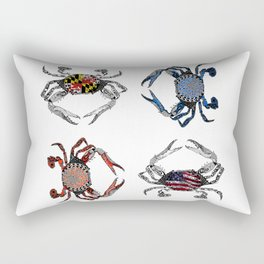 Ol' Crabs Rectangular Pillow