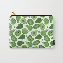 Green fruits and vegetables Carry-All Pouch